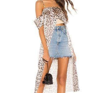 Lovers and Friends Cheetah Top